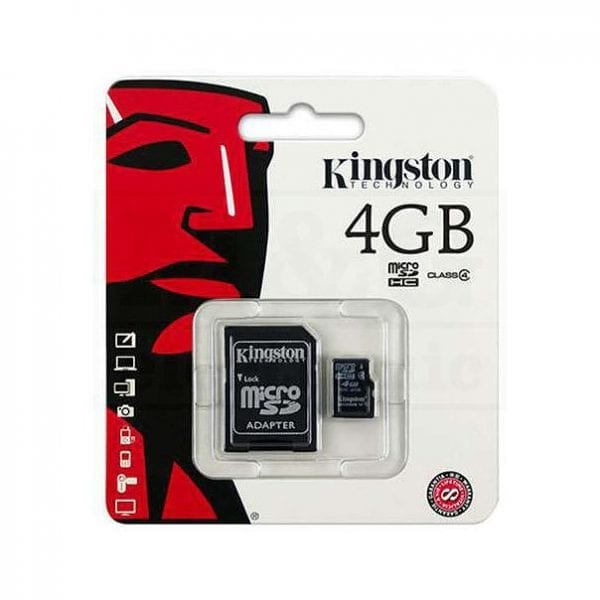 MicroSD 4G Kingston