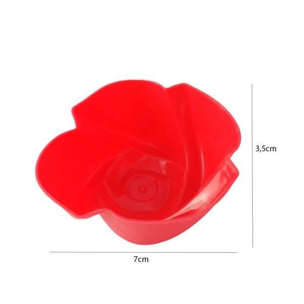 Modlica - crvena ruža