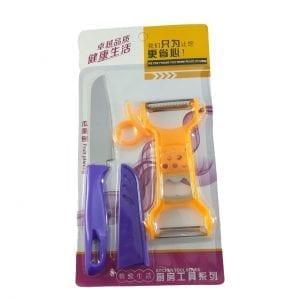 SET - Dupli ljuštač i nož