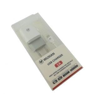 WUXIAN USB PUNJAČ + KABL 1A