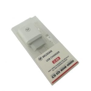 WUXIAN USB PUNJAČ + KABL 2.4A