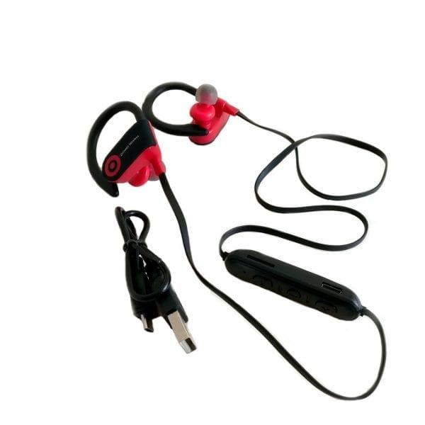 Bežične slušalice G5 - Crvena