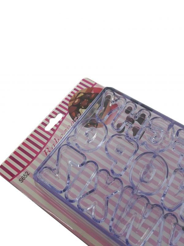 Modla/kutija za kolače - Slova