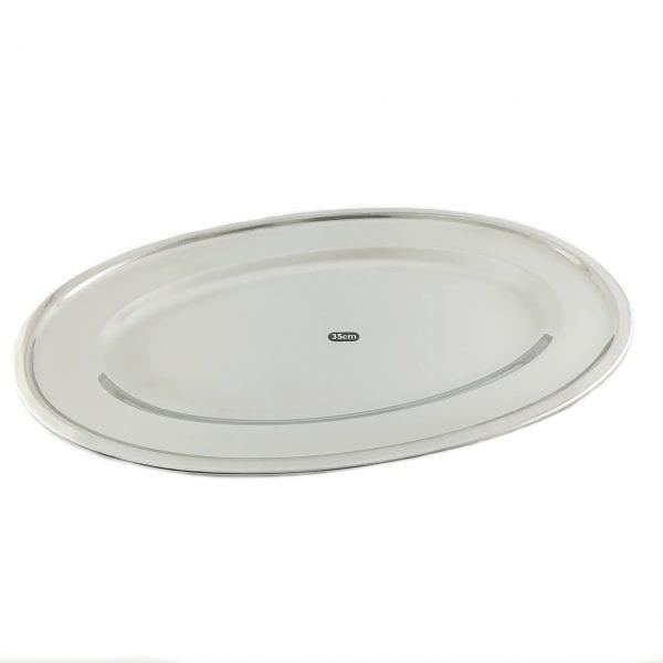Metalni oval 35 cm