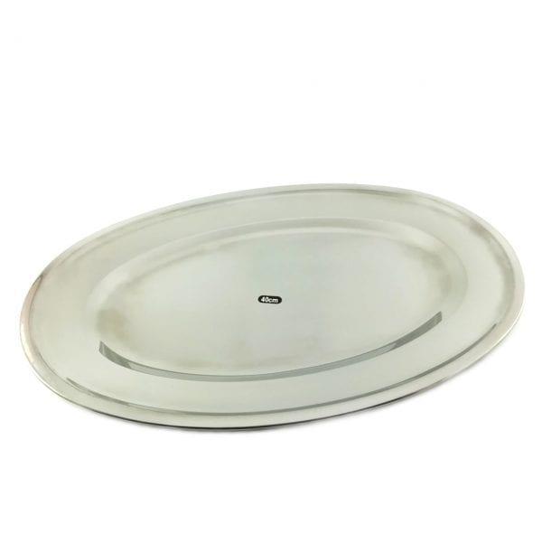 Metalni oval 40 cm