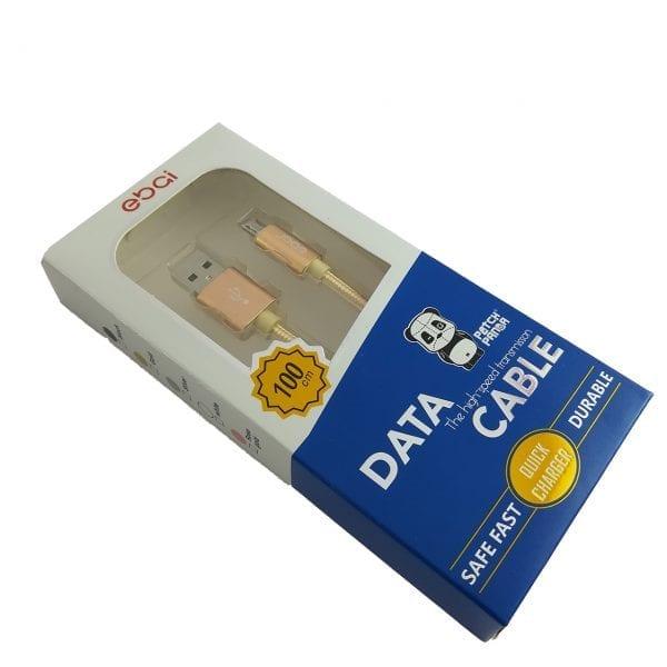 Patch Panda USB-Micro USB kabl - zlatna