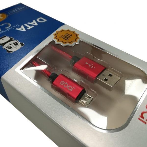 Patch Panda USB-Micro USB kabl - Crvena