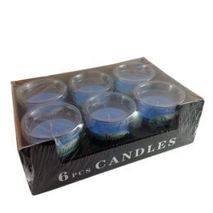 sveće u čaši