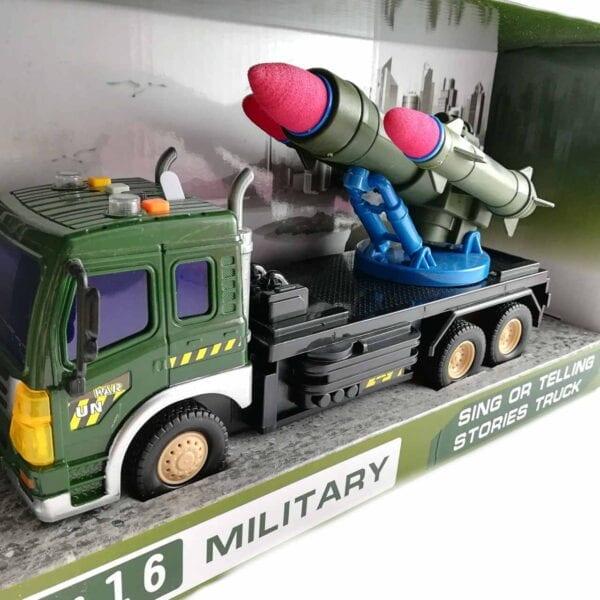 Igračka vojni raketni nosač