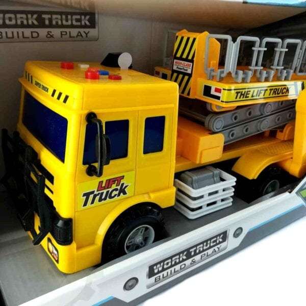 Igračka kamion podizač