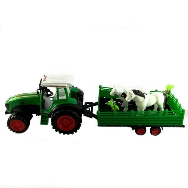 Igračka traktor sa prikolicom